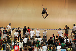 Bucky Lasek competes in the Men's Skateboarding Vert finals at the Staples Center during X-Games 12 in Los Angeles, California on August 3, 2006.