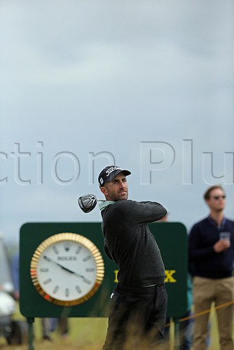 19.07.2015. Old Course, St Andrews, Fife, Scotland. Geoff Ogilvy of Australia in action on the 10th hole during the third round of the 144th British Open Championship at the Old Course, St Andrews in Fife, Scotland.