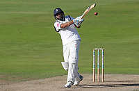 Jetan Patel of Warwickshire in batting action during Warwickshire CCC vs Essex CCC, Specsavers County Championship Division 1 Cricket at Edgbaston Stadium on 11th September 2019