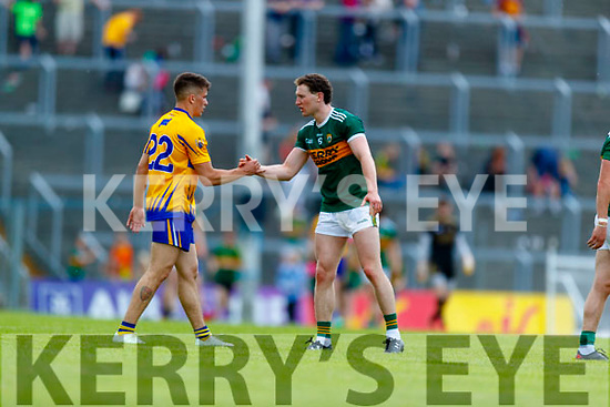 Tadhg Morley Kerry after the Munster GAA Football Senior Championship semi-final match between Kerry and Clare at Fitzgerald Stadium in Killarney on Sunday.