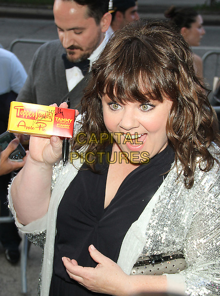 June 26, 2014: Melissa McCarthy  at the New Line Cinema presents special screening of Tammy at the Landmark Sunshine Cinema in New York.<br /> CAP/MPI/RW<br /> &copy;RW/ MediaPunch/Capital Pictures
