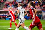 25.07.2017, Stadion Galgenwaard, Utrecht, NLD, Tilburg, UEFA Women's Euro 2017, Russland (RUS) vs Deutschland (GER), <br /> <br /> im Bild | picture shows<br /> Mandy Islacker (Deutschland #9) | (Germany #9), <br /> <br /> Foto © nordphoto / Rauch