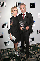 BEVERLY HILLS, CA - MAY 14: Sting and Trudie Styler at the 67th Annual BMI Pop Awards at the Beverly Wilshire Hotel in Beverly Hills, California on May 14, 2019. <br /> CAP/MPIFM<br /> &copy;MPIFM/Capital Pictures