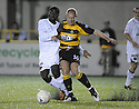 25/08/2009  Copyright  Pic : James Stewart.sct_jspa10_alloa_v_dundee_utd  .PRINCE BAUBEN AND BROWN FERGUSON CHALLENGE.James Stewart Photography 19 Carronlea Drive, Falkirk. FK2 8DN      Vat Reg No. 607 6932 25.Telephone      : +44 (0)1324 570291 .Mobile              : +44 (0)7721 416997.E-mail  :  jim@jspa.co.uk.If you require further information then contact Jim Stewart on any of the numbers above.........