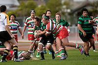 Action from the Women's Rugby - Hutt Old Boys Marist V Wainuiomata at Hutt Rec, Lower Hutt, New Zealand on Saturday 30 May 2015.<br /> Photo by Masanori Udagawa. <br /> www.photowellington.photoshelter.com.