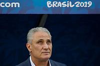 SÃO PAULO, SP 22.06.2019: PERU-BRASIL - Peru e Brasil durante partida válida pela terceira rodada do grupo A da Copa América Brasil 2019, que acontece na Arena Corinthians, zona leste da capital paulista na tarde deste sábado (22). (Foto: Ale Frata/Código19)
