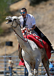 Bryan Hofman races in the 59th Annual International Camel &amp; Ostrich Races in Virginia City, Nev., on Friday, Sept. 7, 2018. <br /> Photo by Cathleen Allison/Nevada Momentum