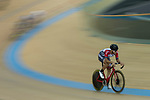 Leung Chun Wing of the SCAA competes in the Men Elite - Scratch 10km Final category during the Hong Kong Track Cycling National Championships 2017 at the Hong Kong Velodrome on 18 March 2017 in Hong Kong, China. Photo by Chris Wong / Power Sport Images