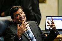 SAO PAULO, SP, 05 DE FEVEREIRO 2013 - ABERTURA ANO LEGISLATIVO - Verador Floriano Pesaro durante abertura da sessão de Abertura do Ano Legislativo da Câmara Municipal de São Paulo (SP), nesta terça-feira (5). FOTO: VANESSA CARVALHO - BRAZIL PHOTO PRESS
