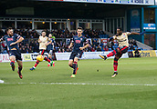 2nd December 2017, Global Energy Stadium, Dingwall, Scotland; Scottish Premiership football, Ross County versus Dundee; Dundee's Roarie Deacon fires in a shot