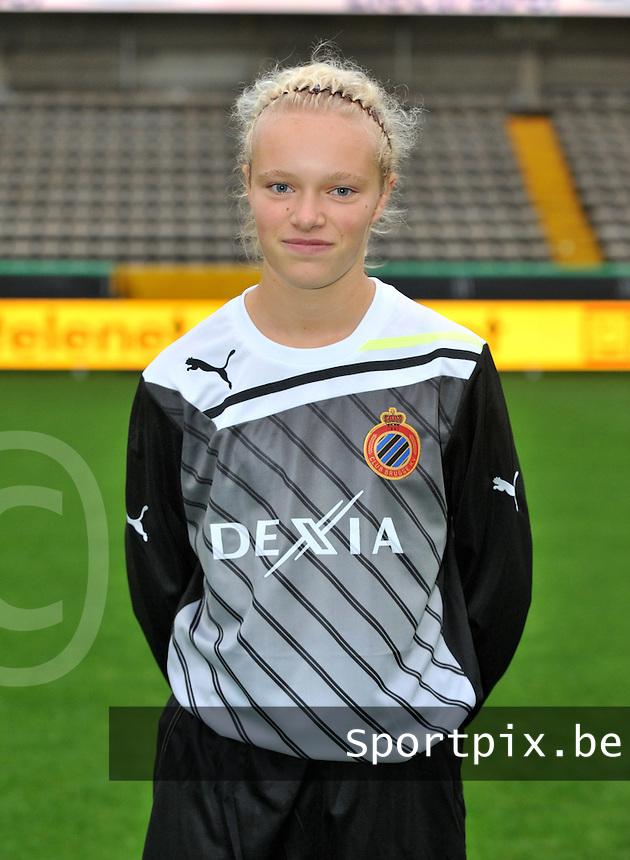 Club Brugge Dames : Jana Vanhauwaert.foto VDB / BART VANDENBROUCKE
