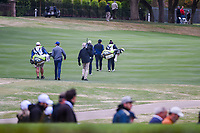 Francesco Molinari (ITA) and Kevin Kisner (USA) head down 8 during day 5 of the WGC Dell Match Play, at the Austin Country Club, Austin, Texas, USA. 3/31/2019.<br /> Picture: Golffile | Ken Murray<br /> <br /> <br /> All photo usage must carry mandatory copyright credit (&copy; Golffile | Ken Murray)