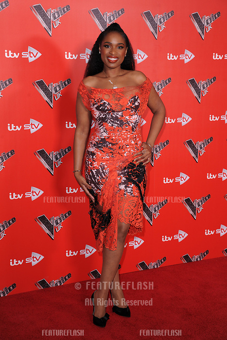 Jennifer Hudson at the photocall for The Voice UK 2018 launch at Ham Yard Hotel, London, UK. <br /> 03 January  2018<br /> Picture: Steve Vas/Featureflash/SilverHub 0208 004 5359 sales@silverhubmedia.com
