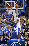 UK's Marquis Teague lays the ball up against Georgia at Rupp Arena on Friday, March 2, 2012. Photo by Scott Hannigan | Staff