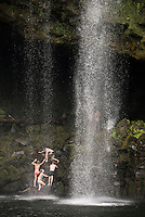 Rainbow Falls, a waterfall at Kerikeri in the Bay of Islands, Northland Region, North Island, New Zealand