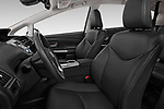 Front seat view of 2018 Toyota Grand-Prius+ business-plus 5 Door Mini Mpv Front Seat  car photos