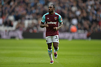 Michail Antonio of West Ham during West Ham United vs Burnley, Premier League Football at The London Stadium on 10th March 2018