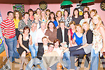 Breda O'Donoghue Cordal seated centre celebrates her 50th birthday in the Half Barrell, Castleisland on Saturday night