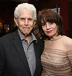 Tony Roberts and Beth Leavel during the Beth Leavel Portrait unveiling at Sardi's on 3/26/2019 in New York City.