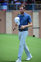 Chris Kirk (USA) departs 18 following round 1 of the Valero Texas Open, AT&amp;T Oaks Course, TPC San Antonio, San Antonio, Texas, USA. 4/20/2017.<br /> Picture: Golffile | Ken Murray<br /> <br /> <br /> All photo usage must carry mandatory copyright credit (&copy; Golffile | Ken Murray)