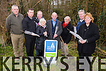 John O'Sullivan, Dan Ahern, Noel Lane, The Forestry company, Margaret Kelly, Terry O'Connor, Tree Council of Ireland,  John McLoughlin, Richard Sherwood , Farranfore Development Association, Eileen McClure, Kitchen Incubators Kerry, led a Tree planting ceremony in Farranfore Village on Friday