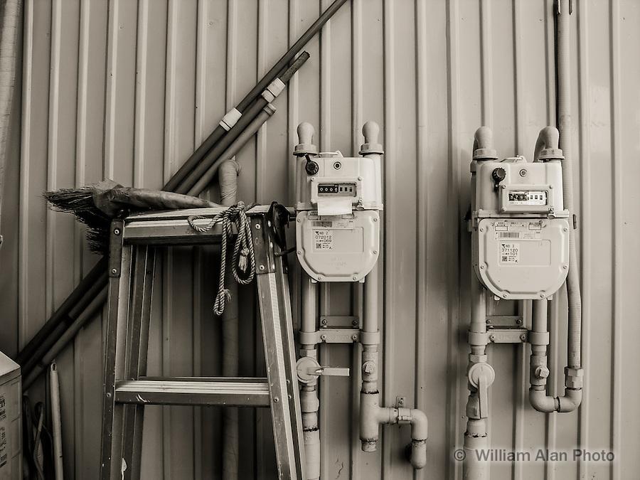 Meters in Ota, Japan 2014.