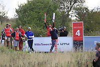 John Daly (USA) on the 4th tee during Round 4 of Made in Denmark at Himmerland Golf &amp; Spa Resort, Farso, Denmark. 27/08/2017<br /> Picture: Golffile | Thos Caffrey<br /> <br /> All photo usage must carry mandatory copyright credit     (&copy; Golffile | Thos Caffrey)