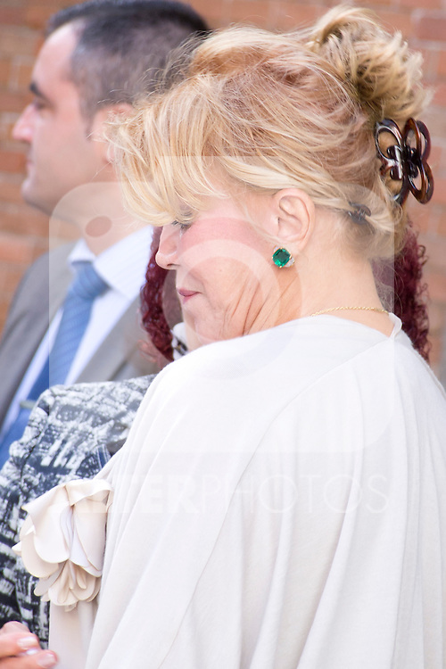 08.10.2012. Spanish Royals, Juan Carlos and Sofia, preside the ceremony commemorating the 20th anniversary of the Thyssen-Bornemisza Museum located in the Villahermosa Palace, in Madrid, Spain. In the image Carmen Thyssen-Bornemisza (Alterphotos/Marta Gonzalez)