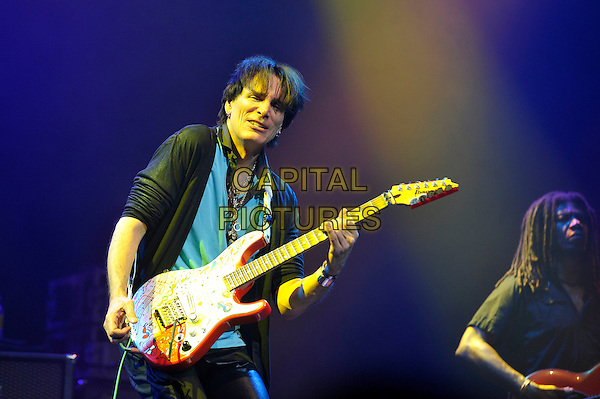 LONDON, ENGLAND - JUNE 2: Steve Vai performing at the London Palladium on June 2, 2016 in London, England.<br /> CAP/MAR<br /> &copy;MAR/Capital Pictures