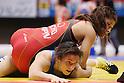 (L to R) Yuliya Ostapchuk (UKR), Kaori Icho (JPN), May 25, 2012 - Wrestling : 2012 Female Wrestling World Cup -63kg Primary round at 2nd Yoyogi Gymnasium, Tokyo, Japan. (Photo by Yusuke Nakanishi/AFLO SPORT) [1090]