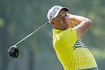 Sam Brazel of Australia tees off during the 58th UBS Hong Kong Golf Open as part of the European Tour on 09 December 2016, at the Hong Kong Golf Club, Fanling, Hong Kong, China. Photo by Marcio Rodrigo Machado / Power Sport Images