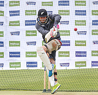 Picture by Alex Whitehead/SWpix.com - 27/05/2015 - Cricket - 2nd Investec Test: England v New Zealand - Headingley Cricket Ground, Leeds, England - New Zealand's Brendon McCullum in action during a practice session.