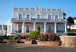 Victorian building of the Paignton Club, Paignton, Devon, England, UK dating from 1882