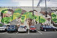 - Milano, quartiere Ortica, dipinto murale storico, vittime di mafia e terrorismo<br /> <br /> - Milan, Ortica district, historical wall painting, victims of mafia and terrorism