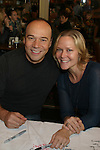 Danny Burstein and Rebecca Luker at The 26th Annual Broadway Flea Market and Grand Auction to benefit Broadway Cares/Equity Fights Aids on September 23, 2012 in Shubert Alley and Times Square, New York City, New York.  (Photo by Sue Coflin/Max Photos)