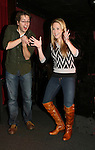 General Hospital's Bradford Anderson and Julie Berman appear at the Brokerage Comedy Club on February 21, 2009 in Bellmore, New York to see their fans as they sign and pose for photos, do a show for the fans and Bradford plays Simon Says with his fans. ALSO Bradford sang for all and he was great. (Photo by Sue Coflin/Max Photos)