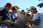 Padraig Harrington (IRL) signing autographs as he walked off the 18th.on practice day of the USGA at Congressional, Bethesda, Washington, 15/6/11.Picture Fran Caffrey/www.golffile.ie