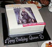 NEW YORK, NY - JULY 11, 2016 LiL Kim cake at her private birthday party at the Jue Lan Club July 11, 2016 in New York City. Photo Credit: Walik Goshorn / Mediapunch