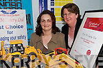 WINNERS: Beverley O'Mahony and Margaret Culhane from C & M Safety Ltd in Glin who won an Excellence Through People Award..