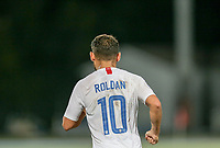 GEORGETOWN, GRAND CAYMAN, CAYMAN ISLANDS - NOVEMBER 19: Cristian Roldan #10 of the Unites States during a game between Cuba and USMNT at Truman Bodden Sports Complex on November 19, 2019 in Georgetown, Grand Cayman.