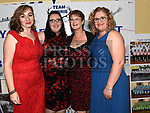 Mary Cassidy, AntoinetteRourke, Mary Hansberry and Michelle Conaghton at the Team Carrie presentation night held in the Grove hotel Dunleer. Photo:Colin Bell/pressphotos.ie