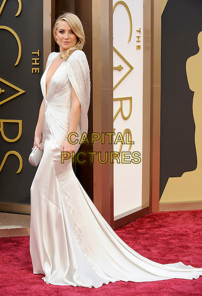 HOLLYWOOD, CA - MARCH 2: Kate Hudson arriving to the 2014 Oscars at the Hollywood and Highland Center in Hollywood, California. March 2, 2014.  <br /> CAP/MPI/mpi99<br /> &copy;mpi99/MediaPunch/Capital Pictures