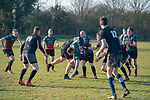 23/02/2019.  Stamford Welland Academy,  United Kingdom. Stamford College Old Boys v Gainsborough Jonathan Clarke / JPC Images