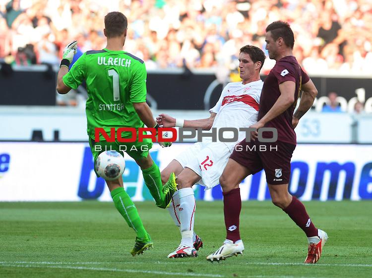 29.08.2013., Mercedes-Benz Arena, Stuttgart - Second leg of UEFA Europa League play-off, VfB Stuttgart - HNK Rijeka. Leon Benko. <br /> Foto &not;&copy;  nph / PIXSELL / Marko Prpic
