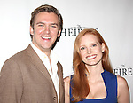 Dan Stevens & Jessica Chastain attending the Meet & Greet the Broadway Cast of 'The Heiress'  at the Empire Hotel in New York City on September 13, 2012