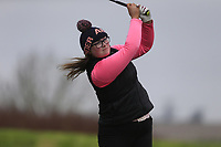 Anna McVicker (Belvoir Park) during the second round of the Irish Girls' Open Stroke Play Championship, Roganstown Golf Club, Swords, Ireland. 14/04/2018.<br /> Picture: Golffile | Fran Caffrey<br /> <br /> <br /> All photo usage must carry mandatory copyright credit (&copy; Golffile | Fran Caffrey)