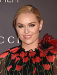 LOS ANGELES, CA - NOVEMBER 04: American World Cup alpine ski racer Lindsey Vonn attends the 2017 LACMA Art + Film Gala Honoring Mark Bradford and George Lucas presented by Gucci at LACMA on November 4, 2017 in Los Angeles, California.