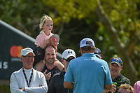 A young fan watches Jason Dufner (USA) retrieve a cold drink from the cooler on 7 during round 2 of the Arnold Palmer Invitational at Bay Hill Golf Club, Bay Hill, Florida. 3/8/2019.<br /> Picture: Golffile | Ken Murray<br /> <br /> <br /> All photo usage must carry mandatory copyright credit (&copy; Golffile | Ken Murray)