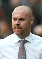 Burnley manager Sean Dyche <br /> <br /> Photographer Rob Newell/CameraSport<br /> <br /> The Premier League - West Ham United v Burnley - Saturday 10th March 2018 - London Stadium - London<br /> <br /> World Copyright &copy; 2018 CameraSport. All rights reserved. 43 Linden Ave. Countesthorpe. Leicester. England. LE8 5PG - Tel: +44 (0) 116 277 4147 - admin@camerasport.com - www.camerasport.com