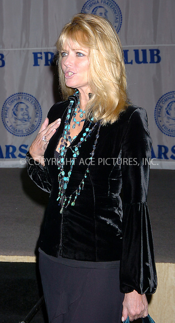 WWW.ACEPIXS.COM . . . . .  ....NEW YORK, OCTOBER 15, 2004....Cheryl Tiegs attends The Friars Club Roast of The Donald in NYC.....Please byline: AJ Sokalner - ACE PICTURES..... *** ***..Ace Pictures, Inc:  ..Alecsey Boldeskul (646) 267-6913 ..Philip Vaughan (646) 769-0430..e-mail: info@acepixs.com..web: http://www.acepixs.com